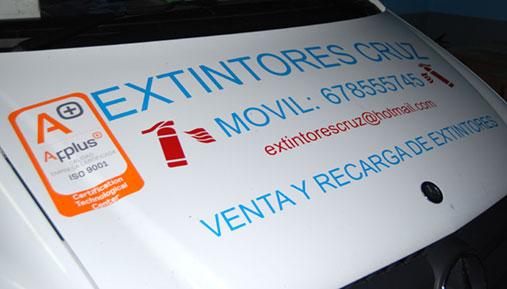 extintores Cruz - Empresa certificada iso-9000
