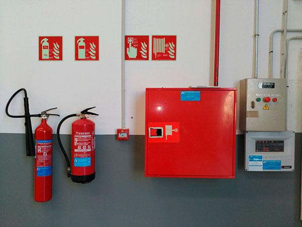 Sistemas de protección contra incendios: instalación PCI