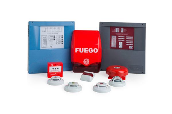 Nueva instalación de sistemas de protección contra incendios