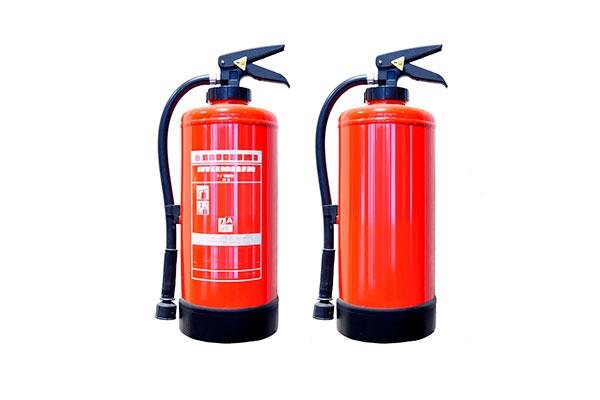 vida útil de un extintor
