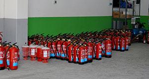 Extintores Portátiles en Madrid