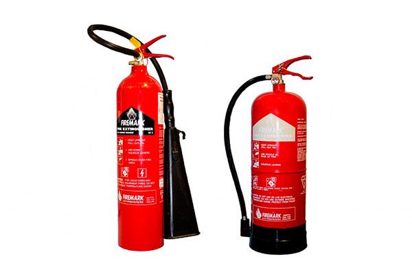 venta y recarga de extintores tipos