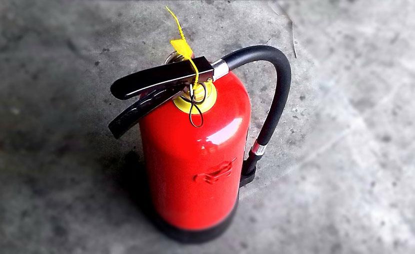 ¿Cuánto cuesta cuesta un extintor?