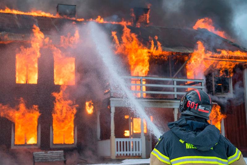 Señalización para la prevención de incendios