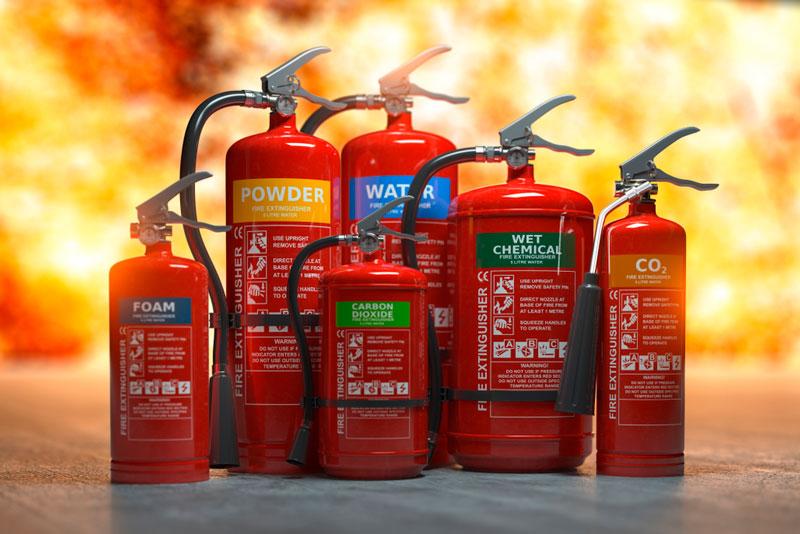 ¿Es posible recargar un extintor contra incendios?