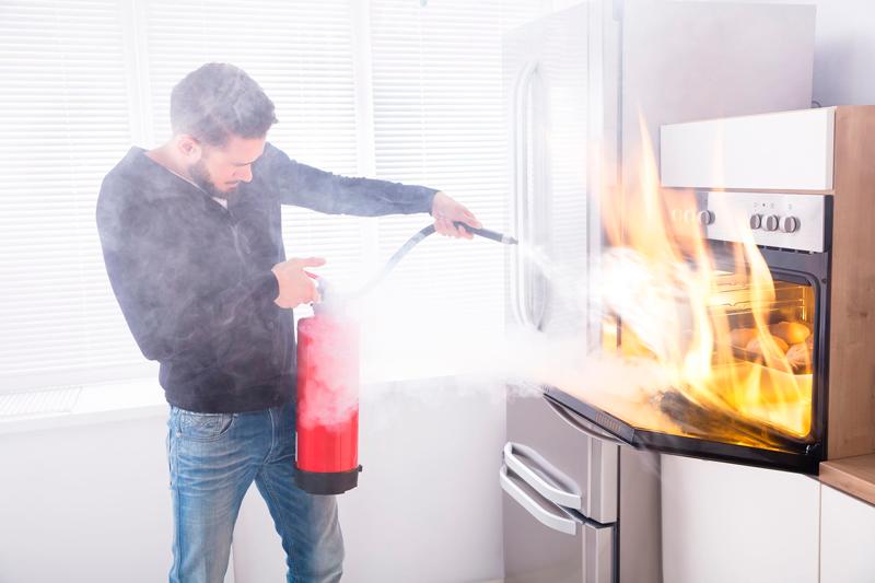 prevenir un incendio en su hogar
